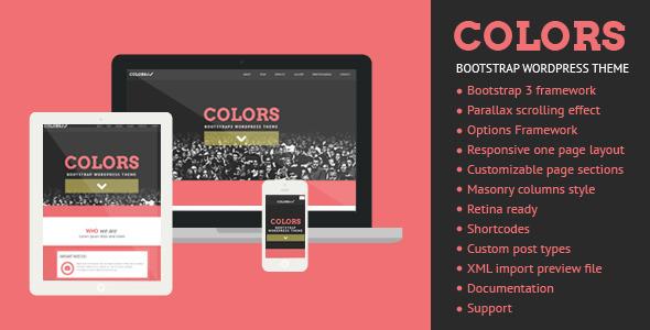 Colors - Bootstrap WordPress Theme