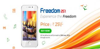 Ringing Bells Freedom 251 Smartphone