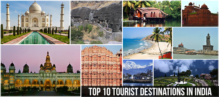 Top 10 tourist destinations in india topmostblog for Attractions in nyc for couples