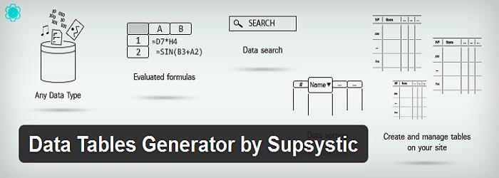 Data Table Generator