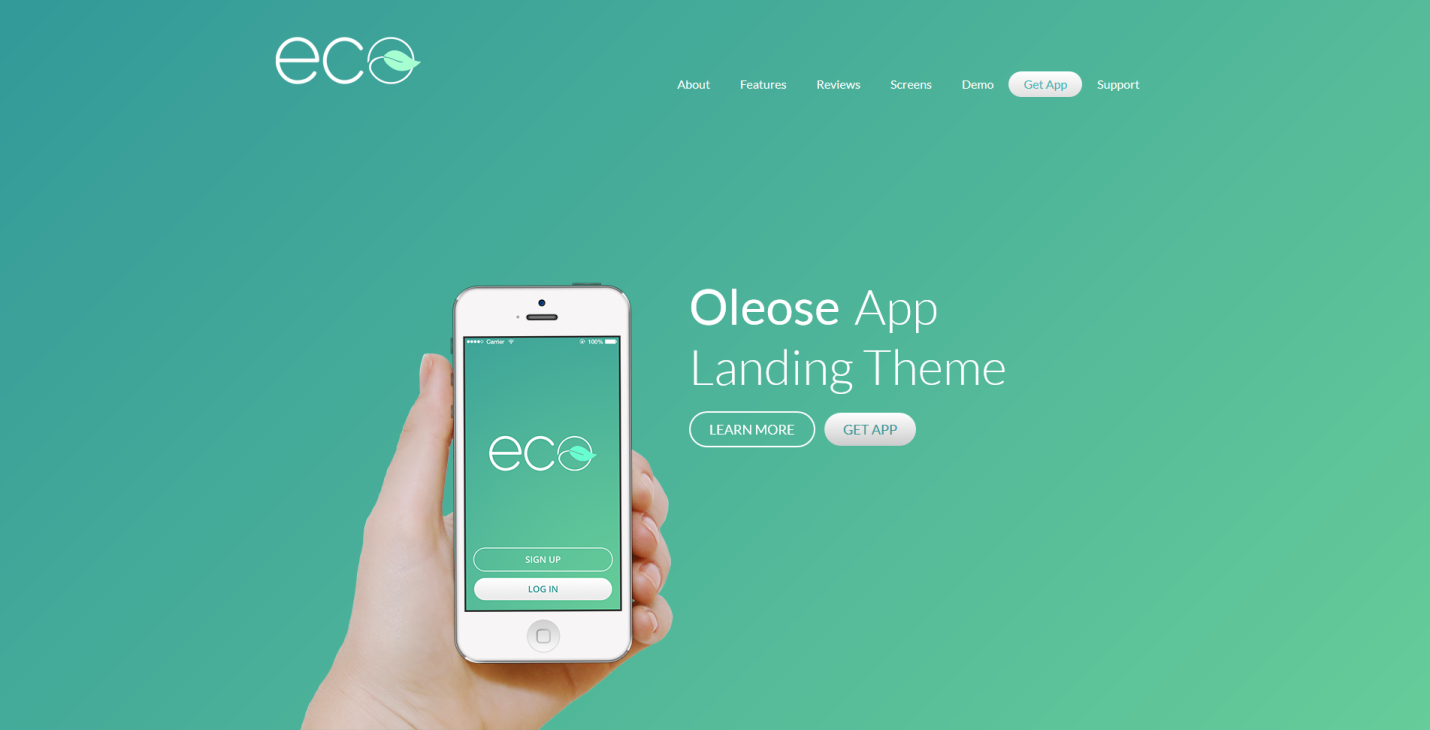 Top 6 Free Mobile App Landing Page Template Topmostblog