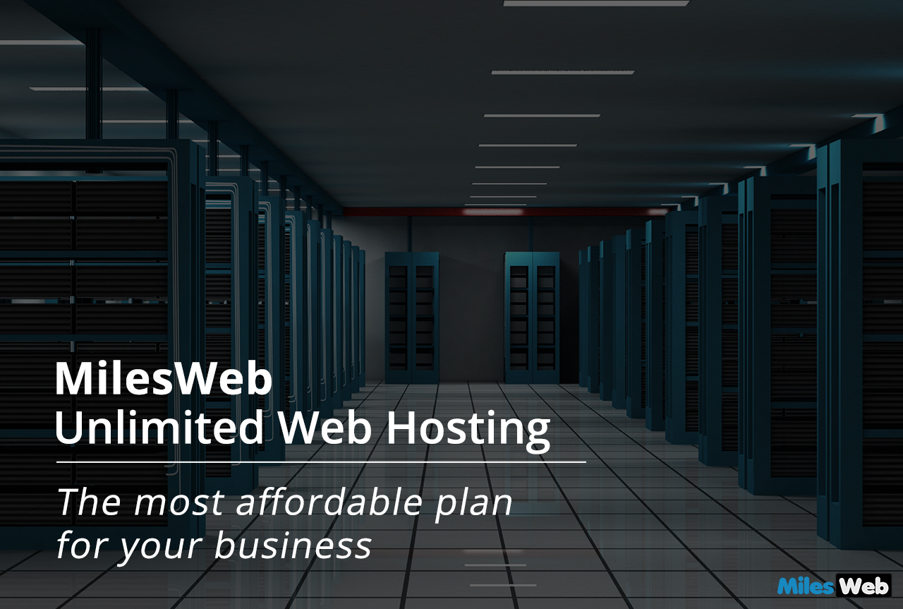 MilesWeb Unlimited Web Hosting
