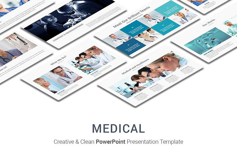 Creative & Cleaning Medical PowerPoint
