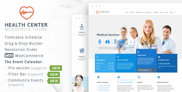 Medical & Dentist Theme