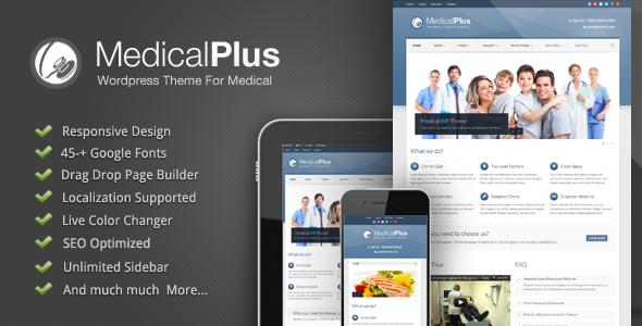 Medical Plus Responsive Medical Theme