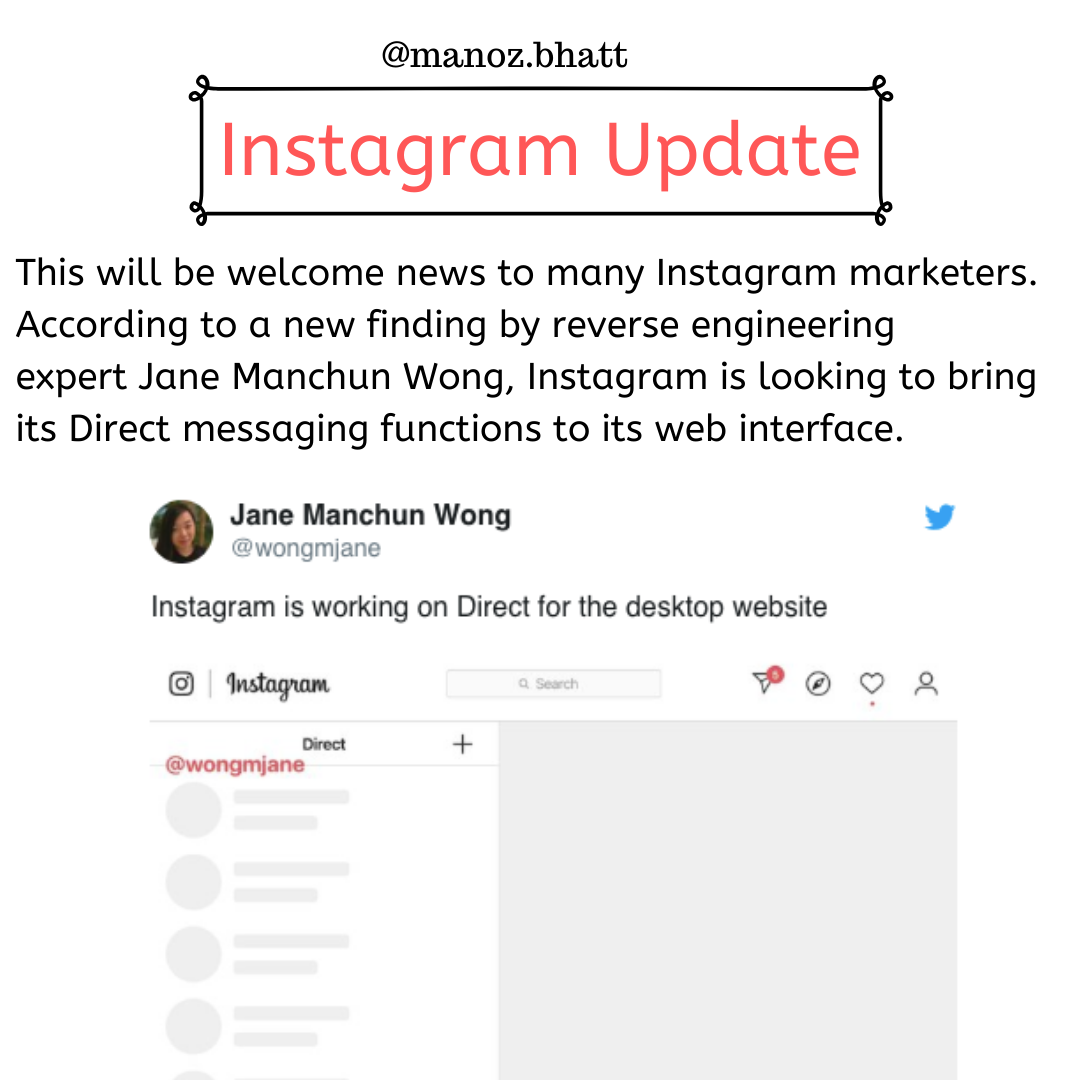 Instagram App Updates